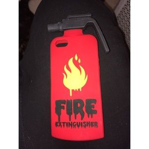 Accessories - iPhone SE/5s/5c Fire Extinguisher Case
